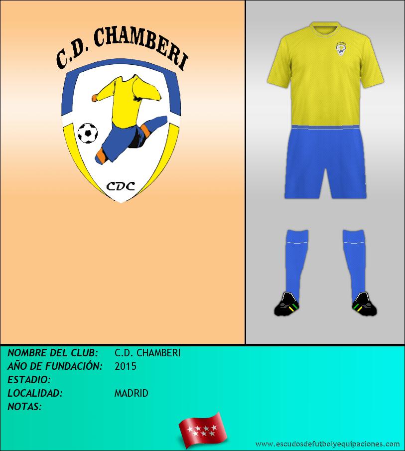 Escudo de C.D. CHAMBERI