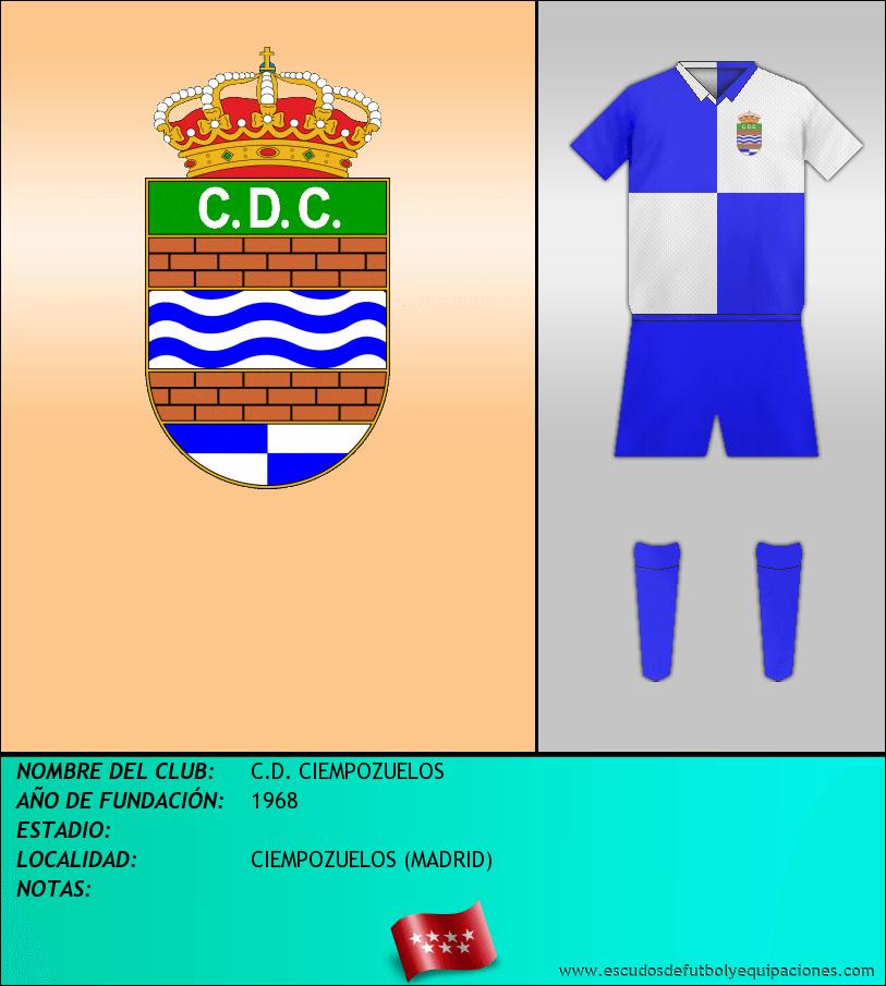 Escudo de C.D. CIEMPOZUELOS