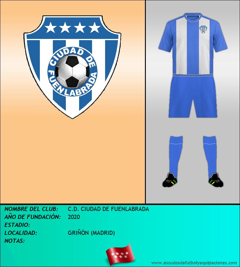 Escudo de C.D. CIUDAD DE FUENLABRADA
