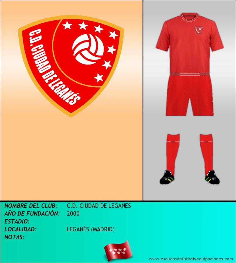 Escudo de C.D. CIUDAD DE LEGANES