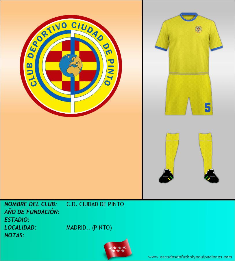 Escudo de C.D. CIUDAD DE PINTO