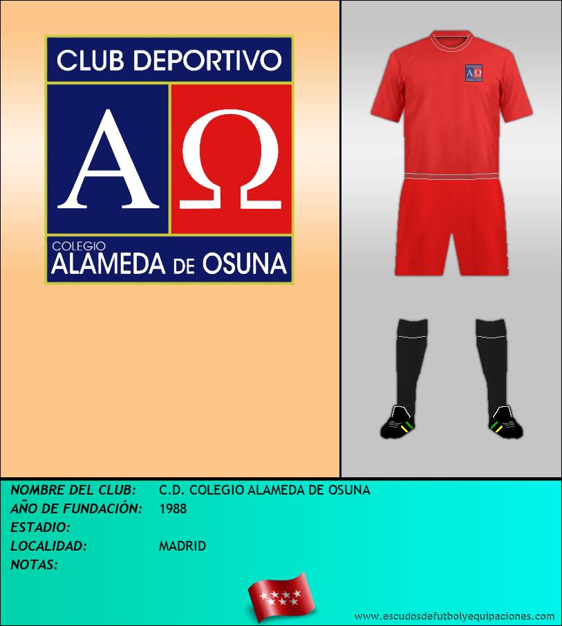 Escudo de C.D. COLEGIO ALAMEDA DE OSUNA