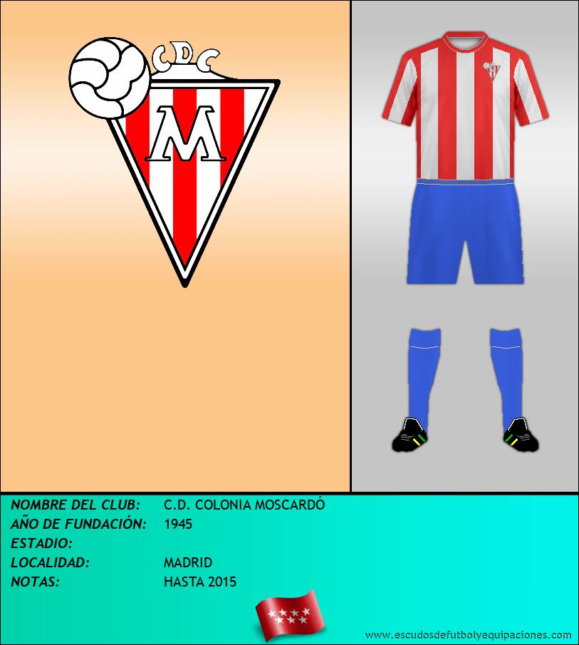 Escudo de C.D. COLONIA MOSCARDÓ