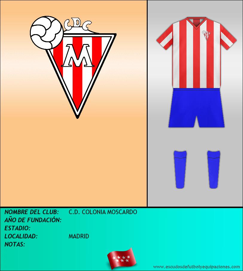 Escudo de C.D. COLONIA MOSCARDO