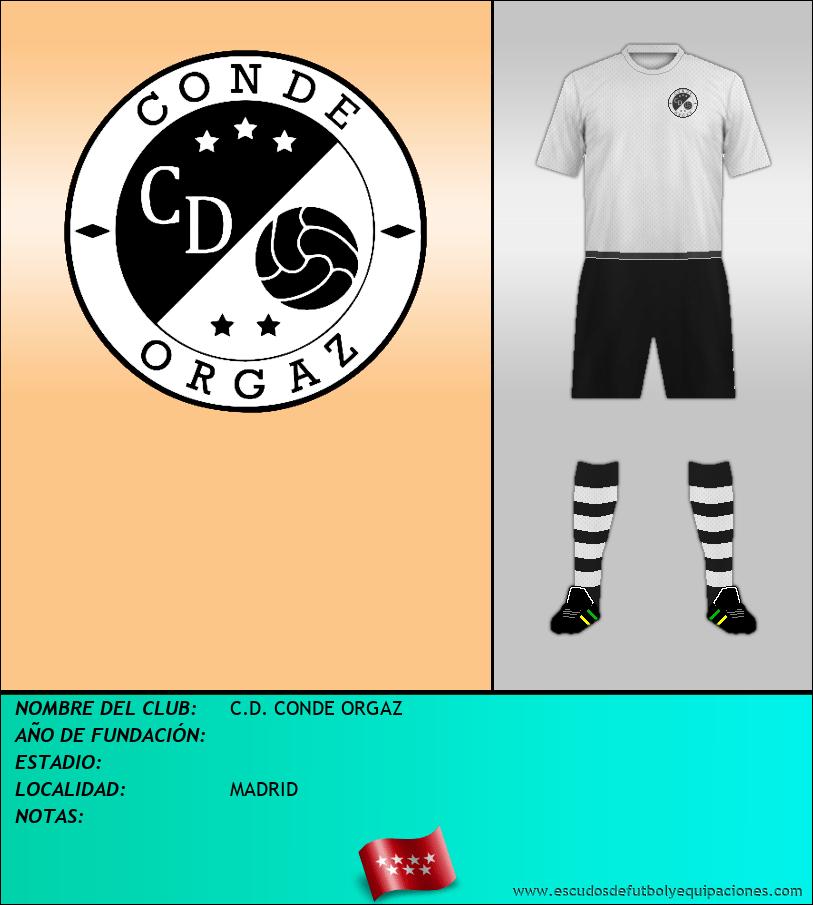 Escudo de C.D. CONDE ORGAZ
