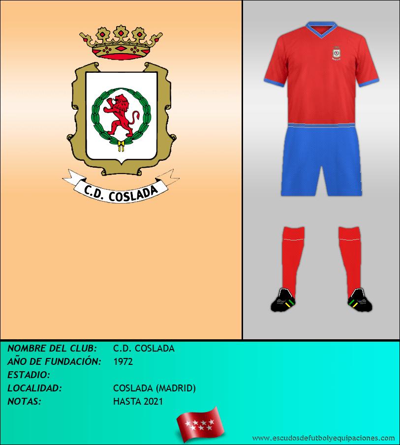 Escudo de C.D. COSLADA