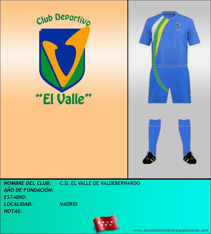 Escudo de C.D. EL VALLE DE VALDEBERNARDO