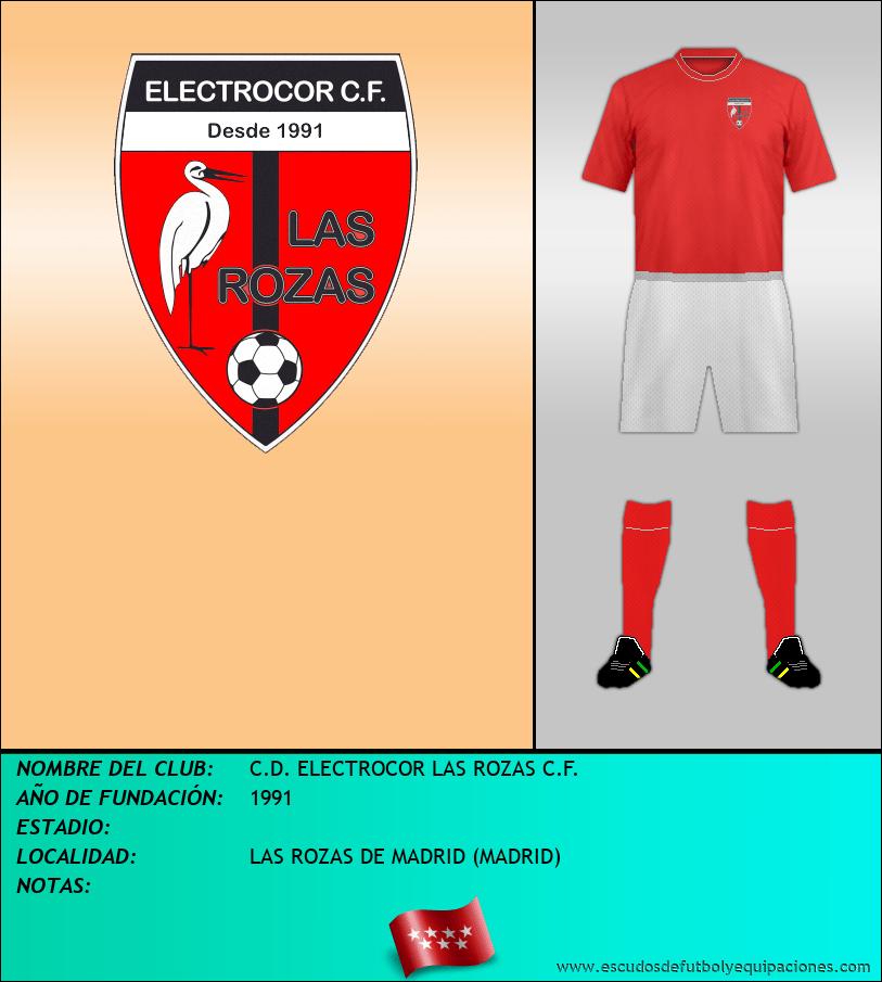Escudo de C.D. ELECTROCOR LAS ROZAS C.F.