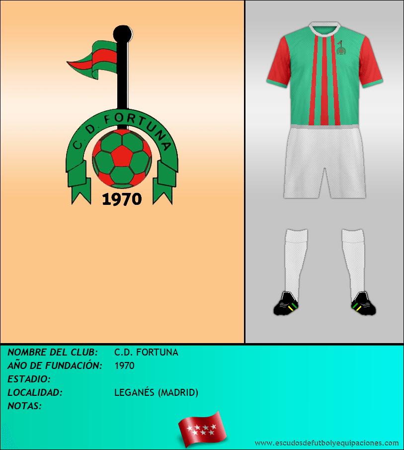 Escudo de C.D. FORTUNA