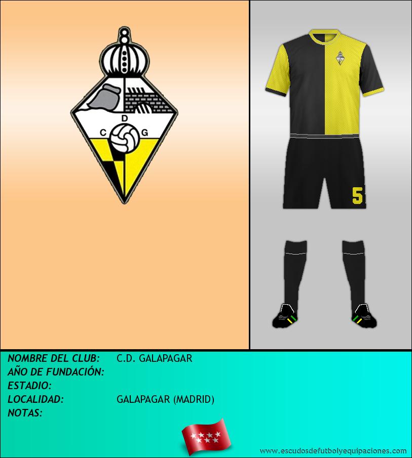 Escudo de C.D. GALAPAGAR