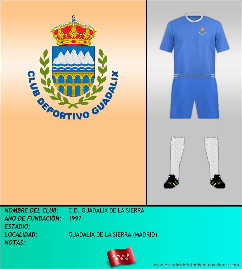 Escudo de C.D. GUADALIX DE LA SIERRA