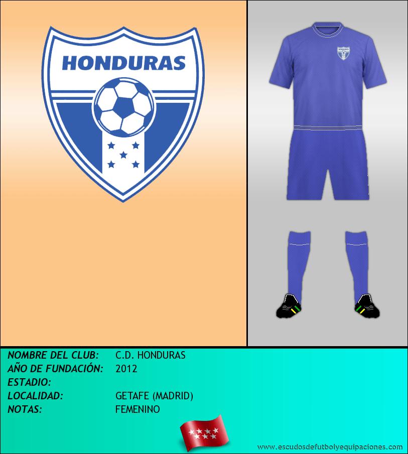 Escudo de C.D. HONDURAS