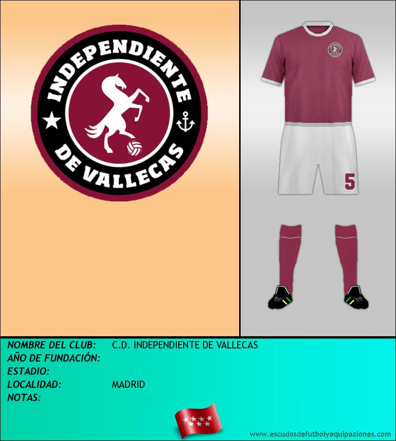 Escudo de C.D. INDEPENDIENTE DE VALLECAS