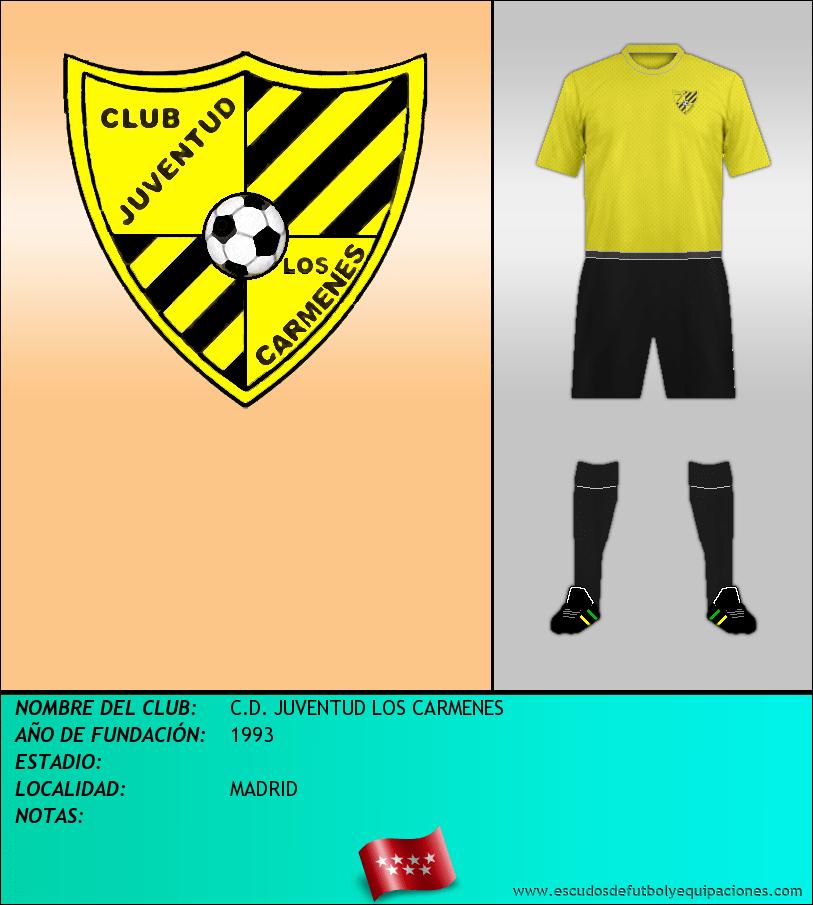 Escudo de C.D. JUVENTUD LOS CARMENES