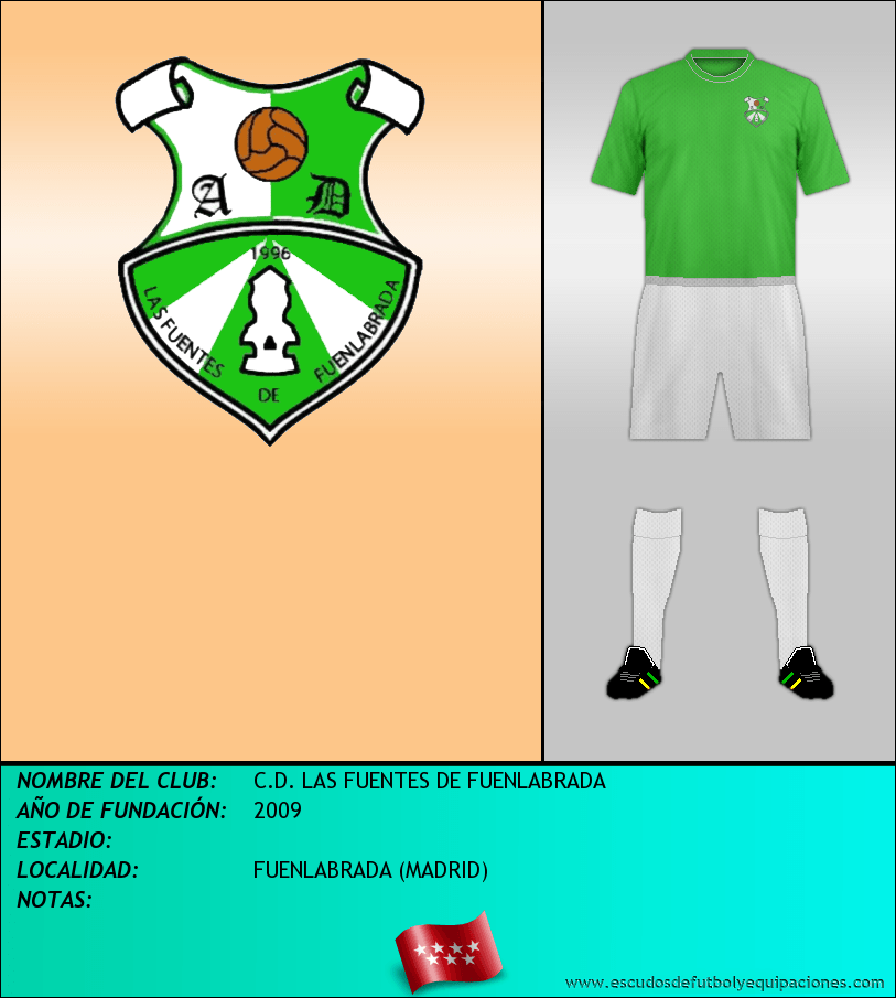 Escudo de C.D. LAS FUENTES DE FUENLABRADA