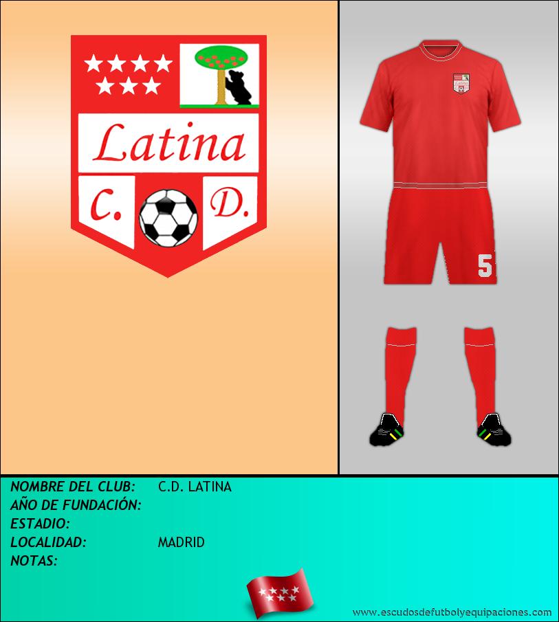Escudo de C.D. LATINA