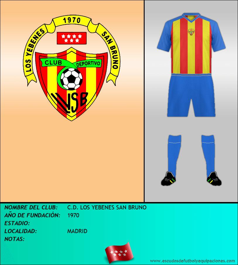 Escudo de C.D. LOS YEBENES SAN BRUNO