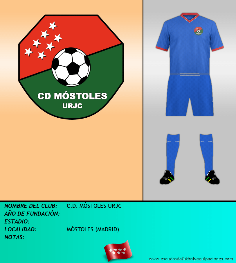 Escudo de C.D. MÓSTOLES URJC