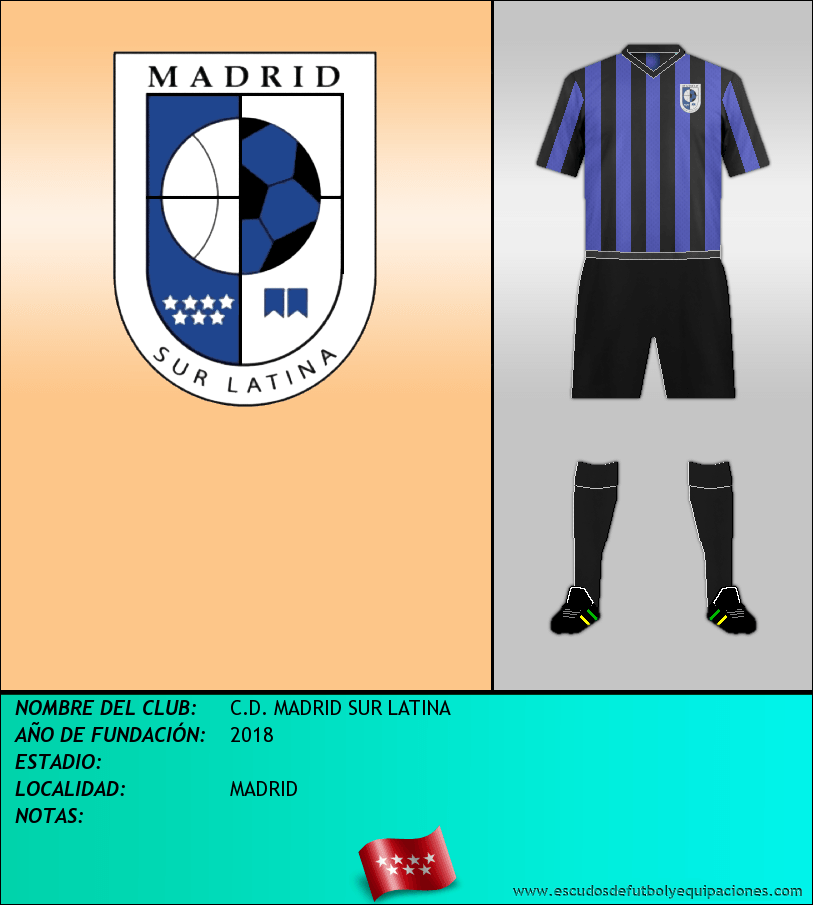 Escudo de C.D. MADRID SUR LATINA