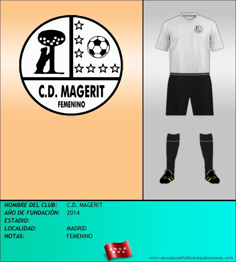 Escudo de C.D. MAGERIT