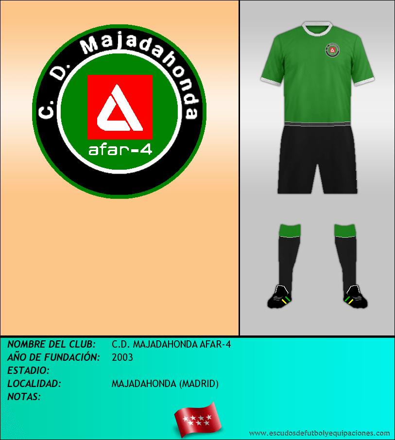 Escudo de C.D. MAJADAHONDA AFAR-4
