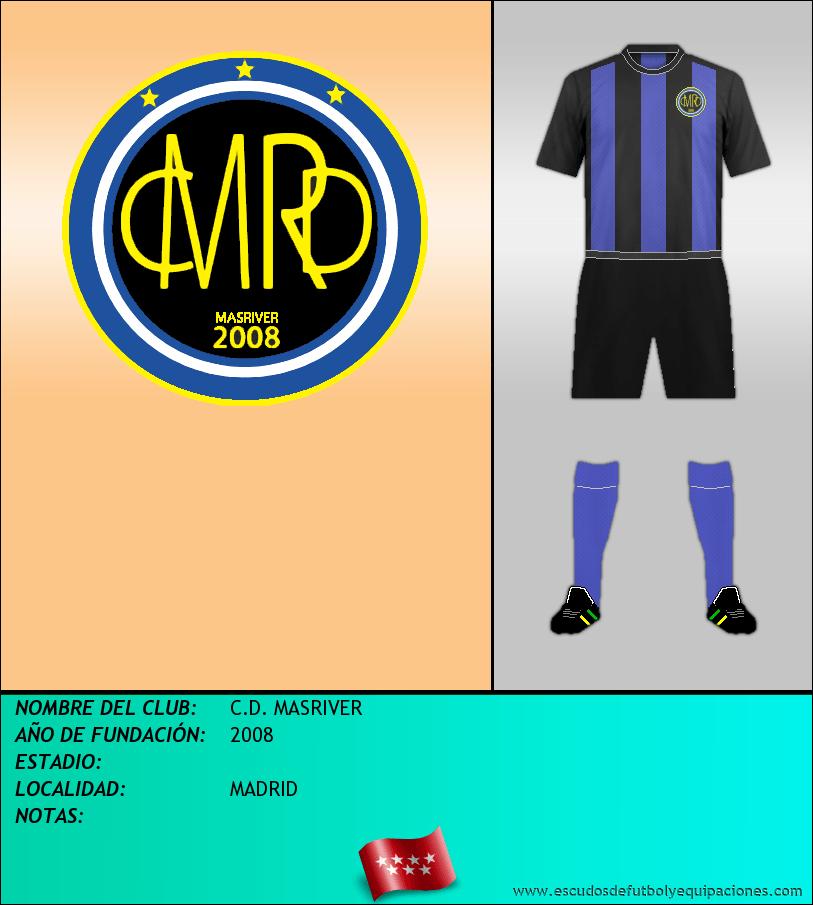 Escudo de C.D. MASRIVER