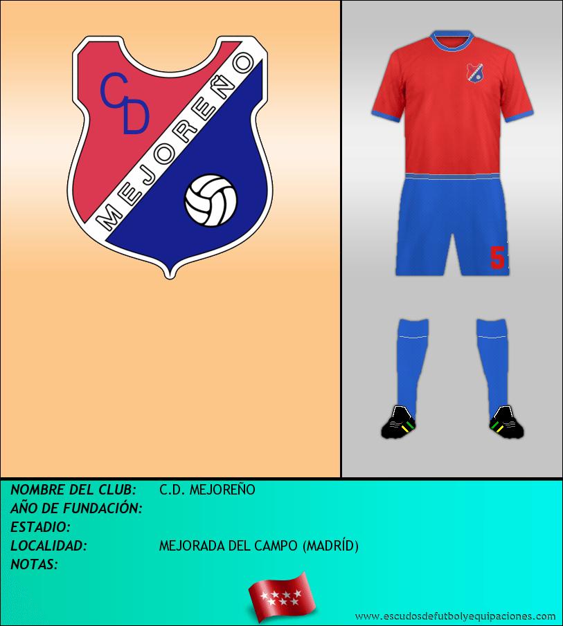 Escudo de C.D. MEJOREÑO