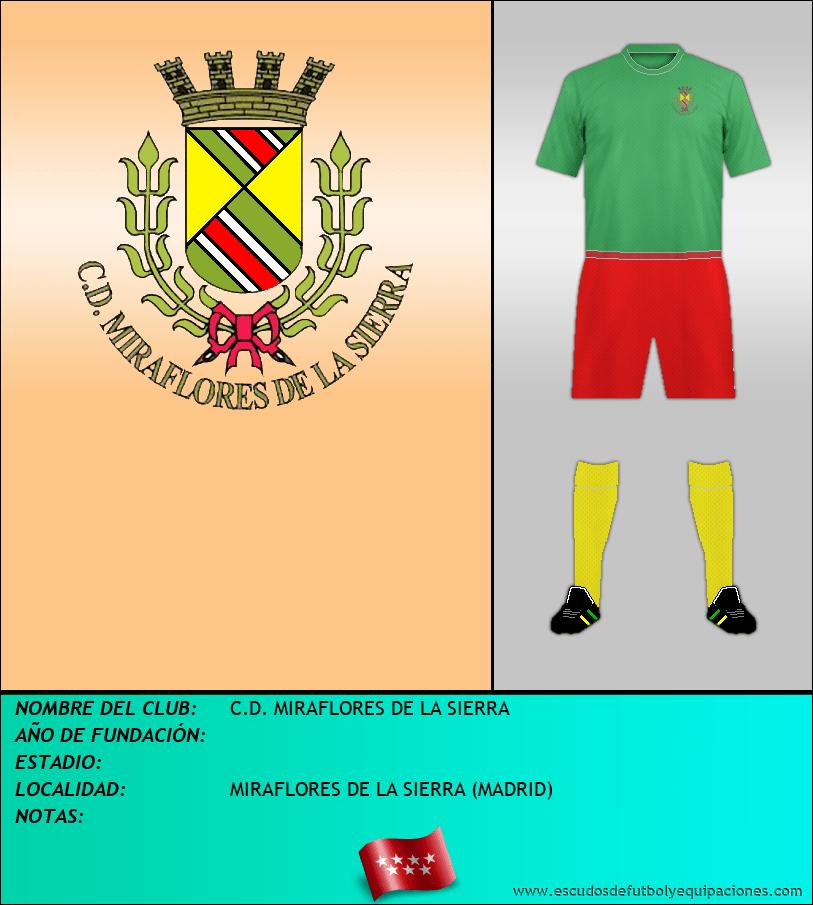 Escudo de C.D. MIRAFLORES DE LA SIERRA