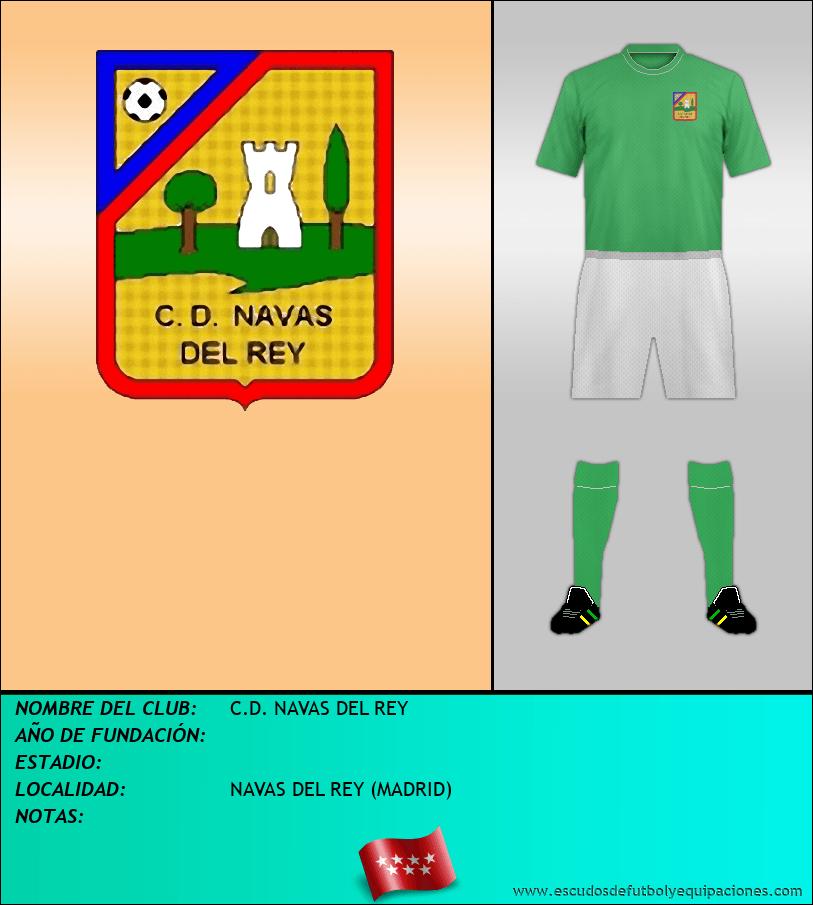 Escudo de C.D. NAVAS DEL REY