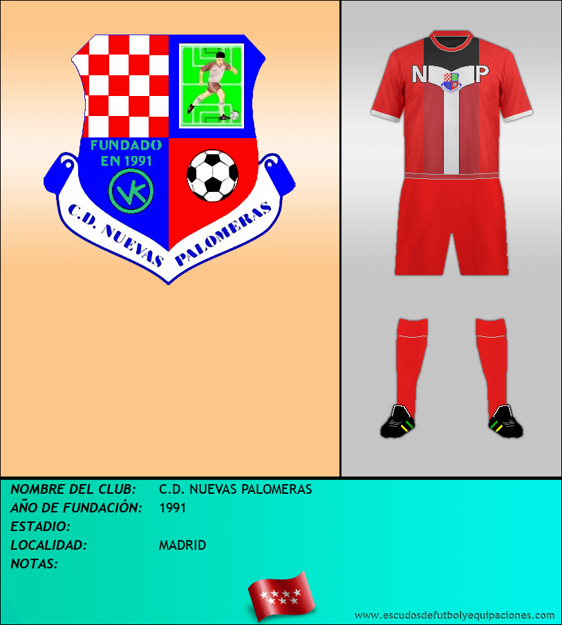 Escudo de C.D. NUEVAS PALOMERAS