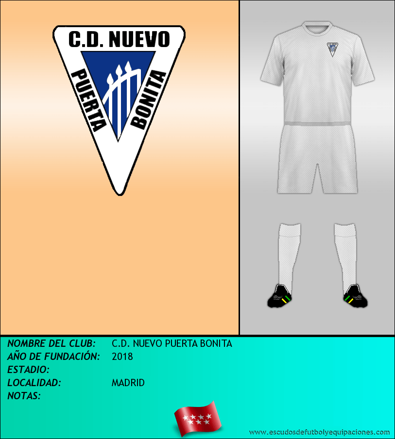 Escudo de C.D. NUEVO PUERTA BONITA