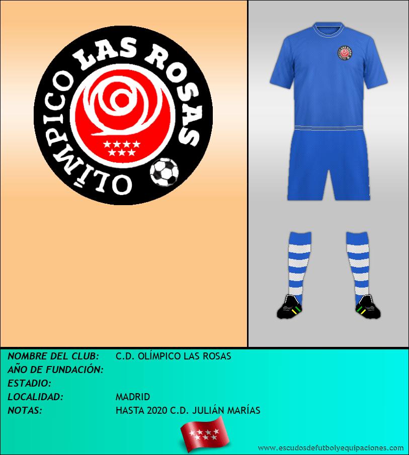 Escudo de C.D. OLÍMPICO LAS ROSAS