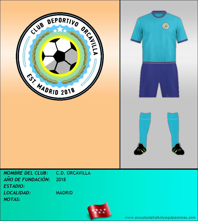 Escudo de C.D. ORCAVILLA