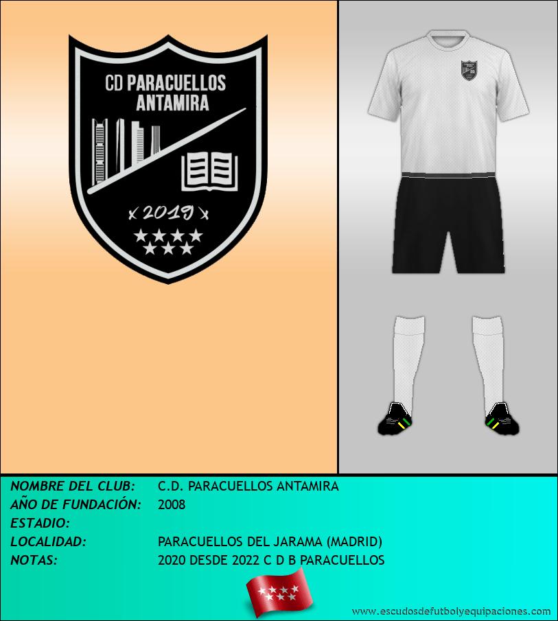 Escudo de C.D. PARACUELLOS ANTAMIRA