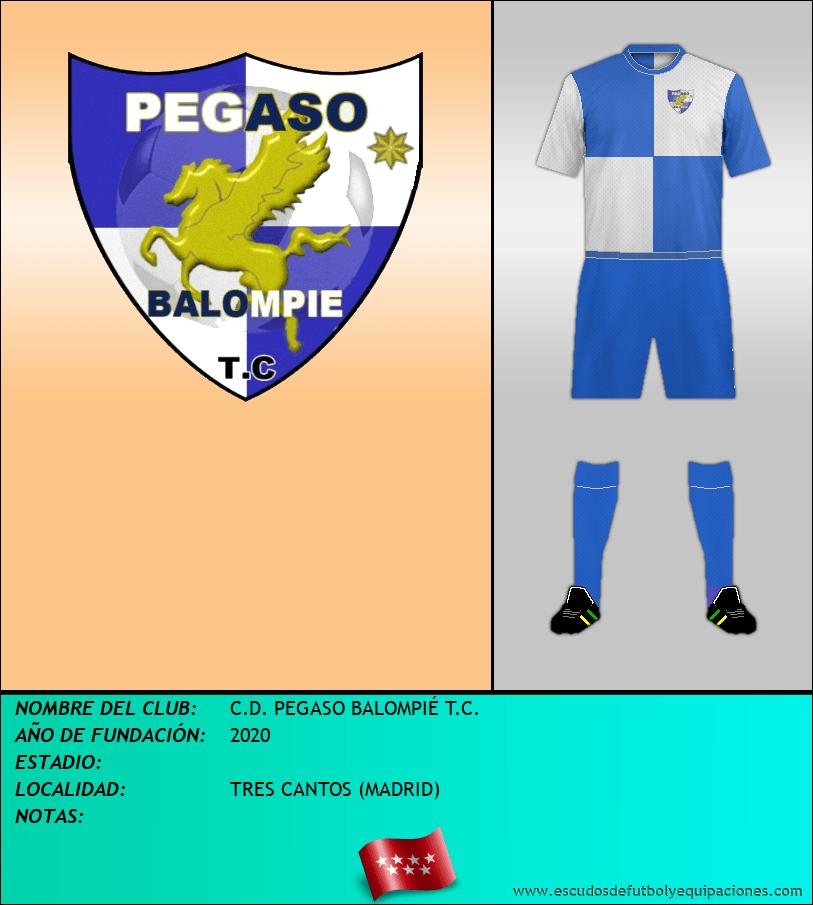 Escudo de C.D. PEGASO BALOMPIÉ T.C.