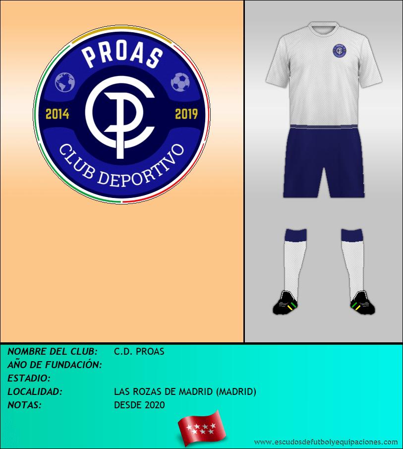 Escudo de C.D. PROAS