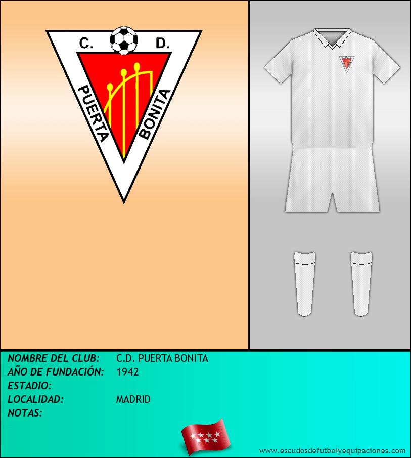 Escudo de C.D. PUERTA BONITA