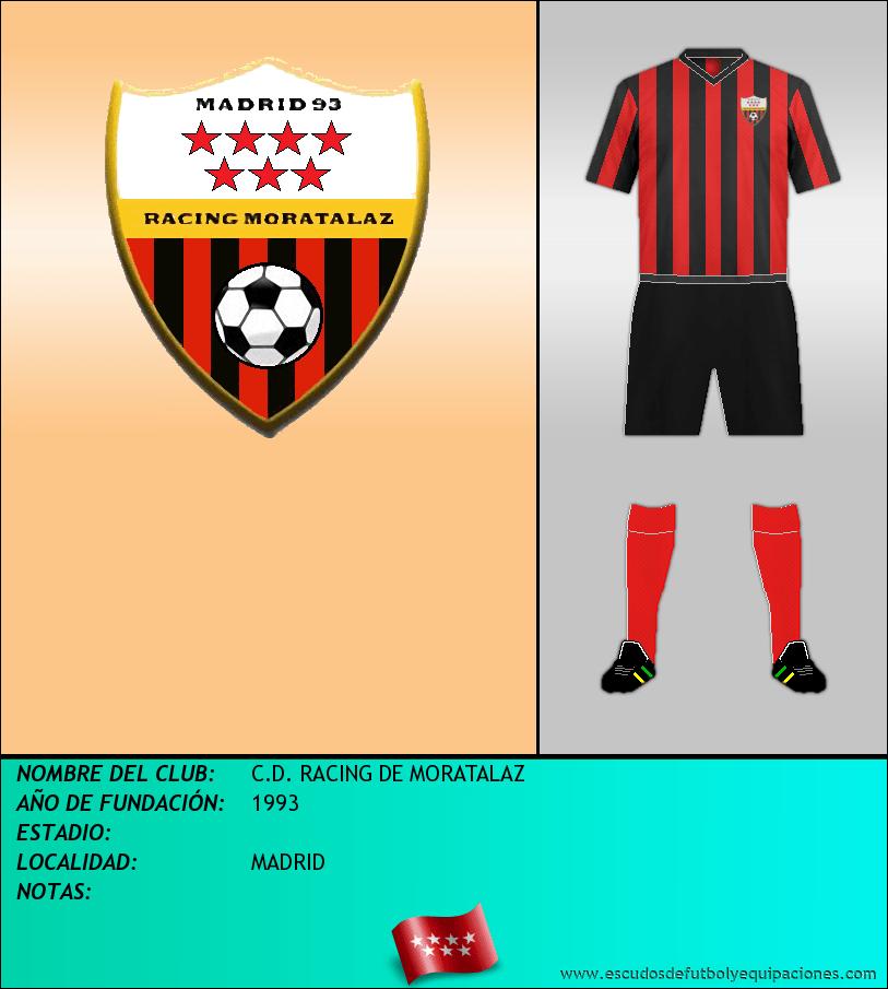 Escudo de C.D. RACING DE MORATALAZ