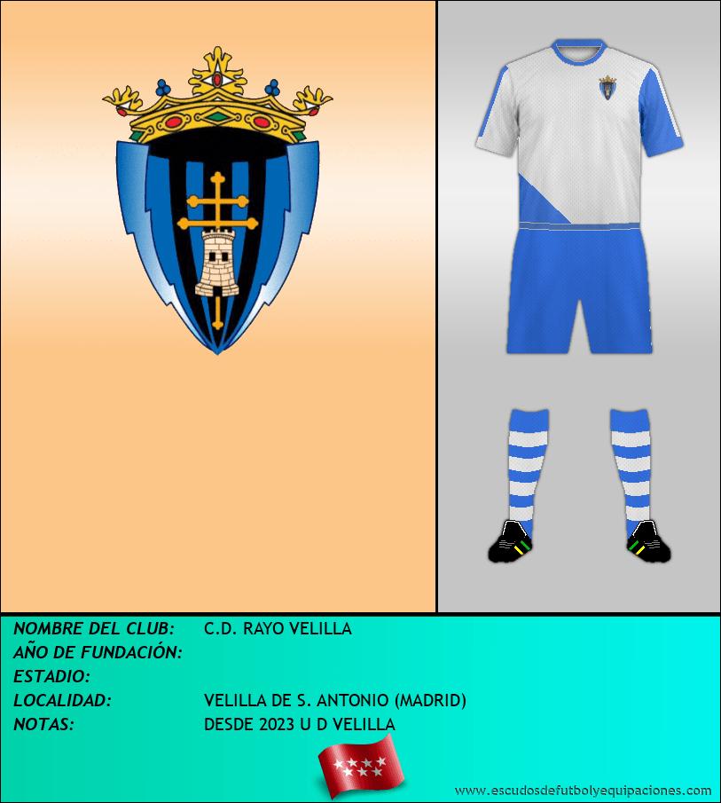 Escudo de C.D. RAYO VELILLA