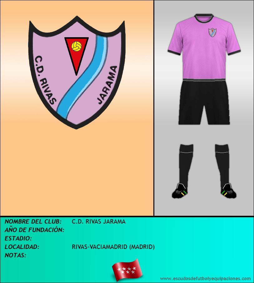 Escudo de C.D. RIVAS JARAMA