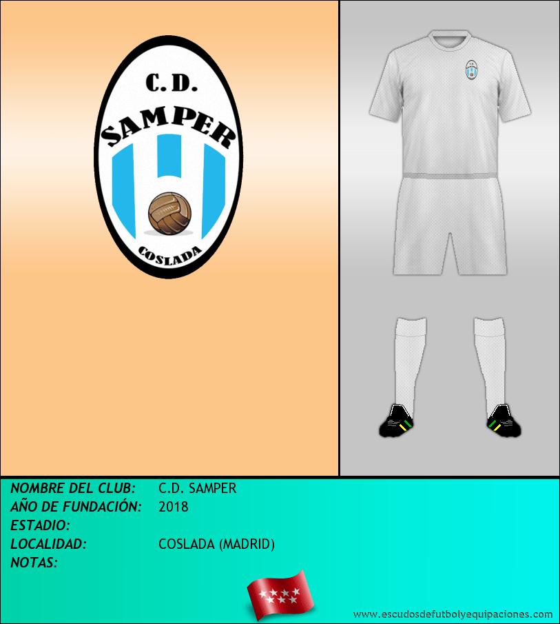 Escudo de C.D. SAMPER