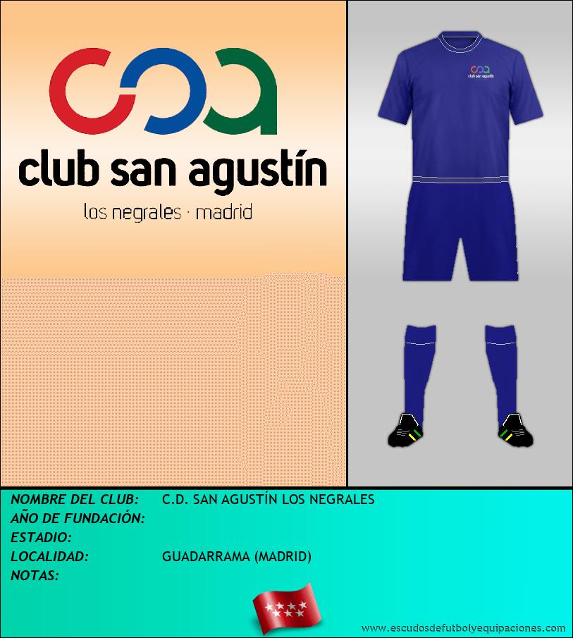 Escudo de C.D. SAN AGUSTÍN LOS NEGRALES