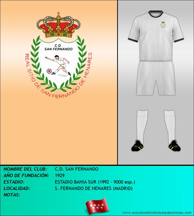 Escudo de C.D. SAN FERNANDO