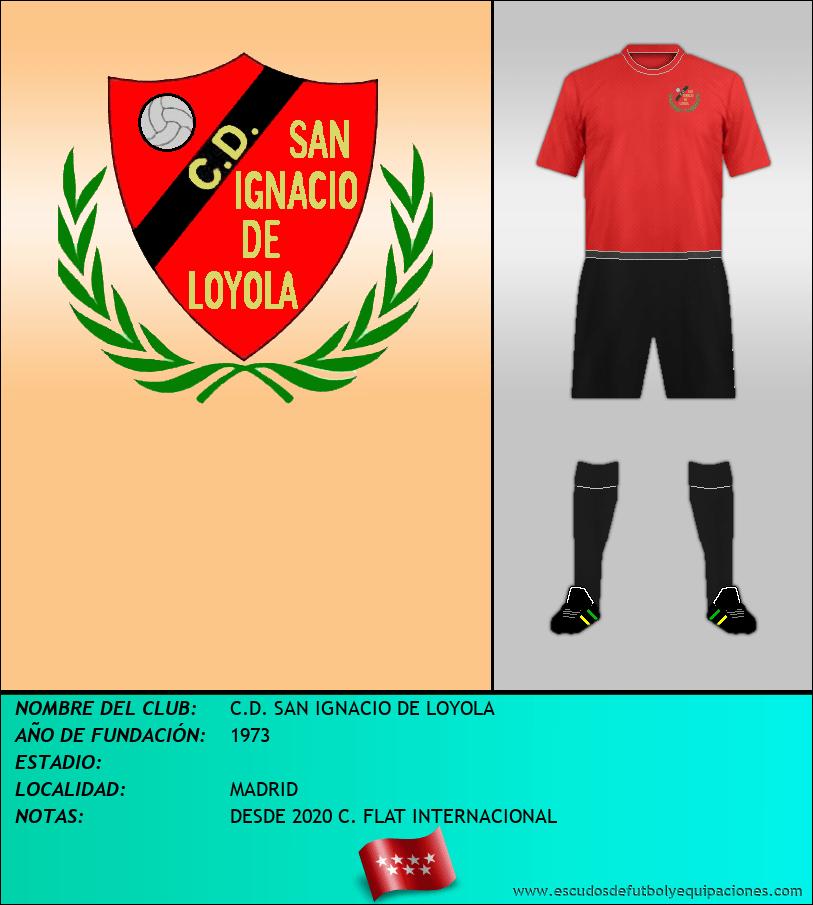 Escudo de C.D. SAN IGNACIO DE LOYOLA