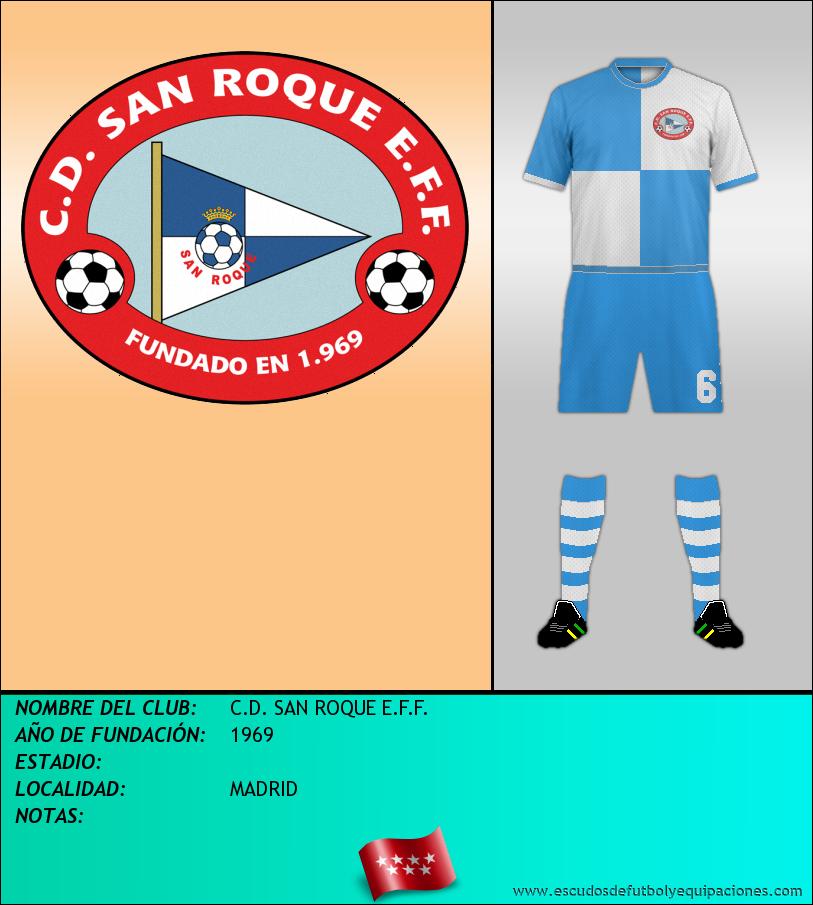 Escudo de C.D. SAN ROQUE E.F.F.
