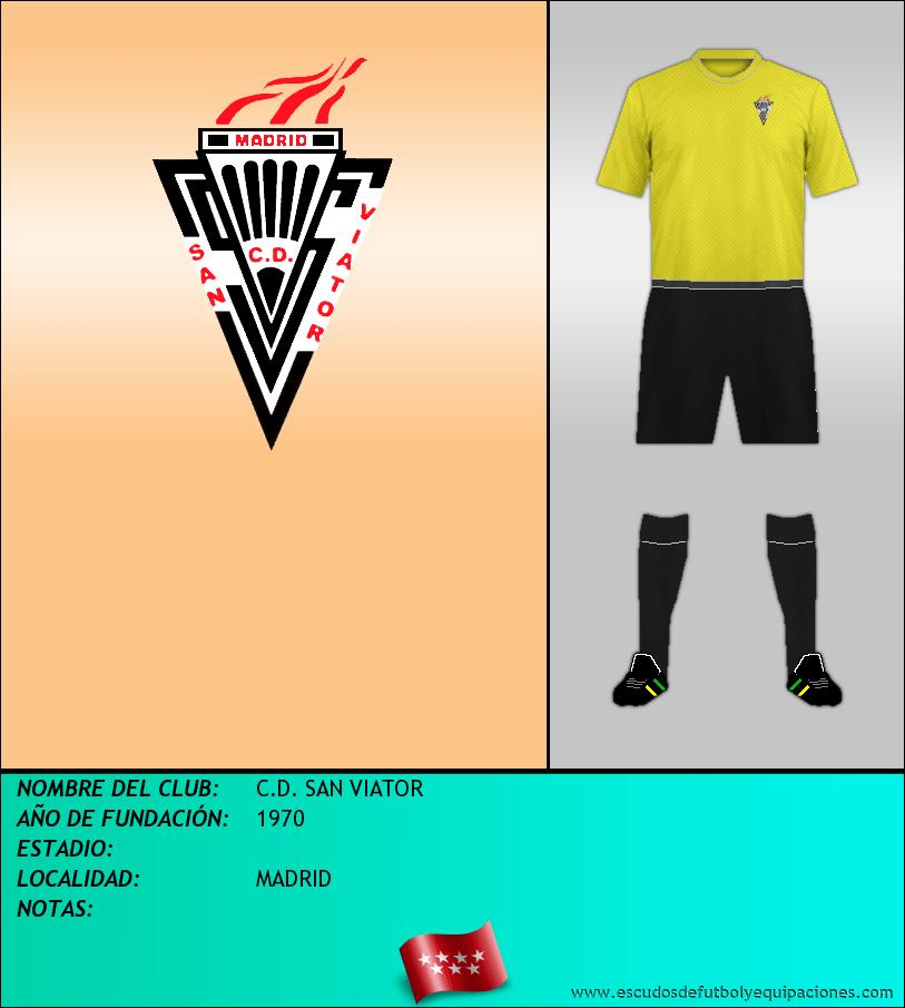 Escudo de C.D. SAN VIATOR