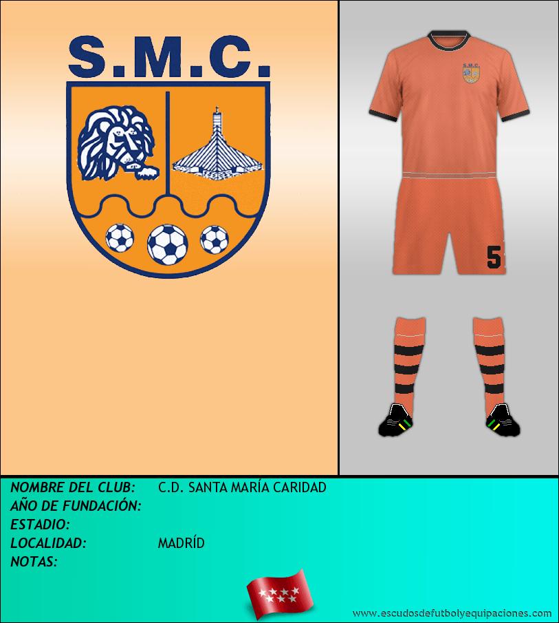 Escudo de C.D. SANTA MARÍA CARIDAD