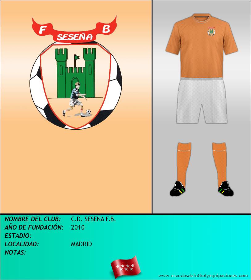 Escudo de C.D. SESEÑA F.B.