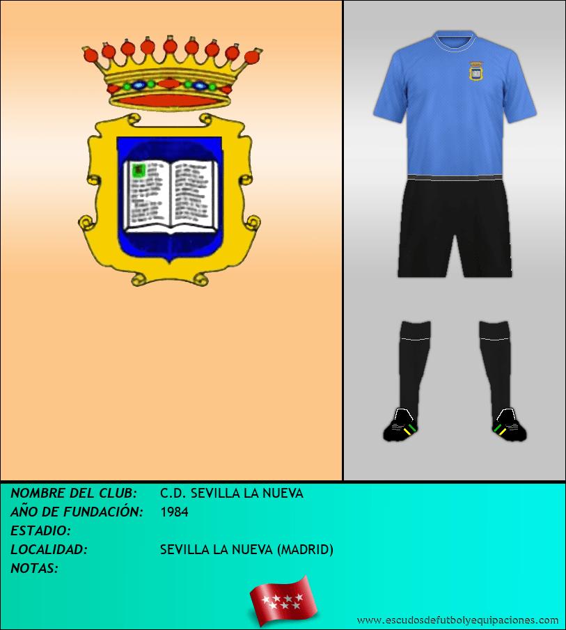 Escudo de C.D. SEVILLA LA NUEVA