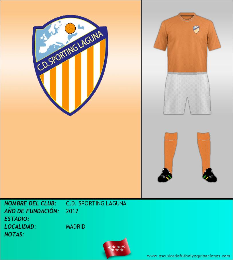 Escudo de C.D. SPORTING LAGUNA